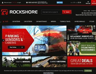 rockshore.uk.com screenshot