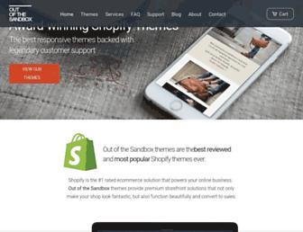 outofthesandbox.com screenshot