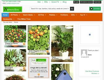 Thumbshot of Nurserylive.com