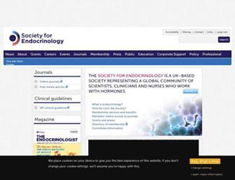 endocrinology.org screenshot