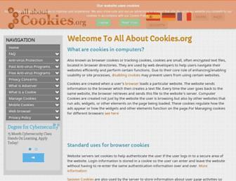 allaboutcookies.org screenshot