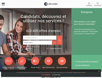 Thumbshot of Pole-emploi.fr