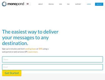 monopond.com screenshot