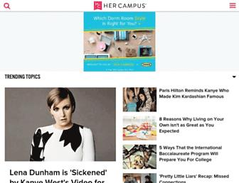 hercampus.com screenshot
