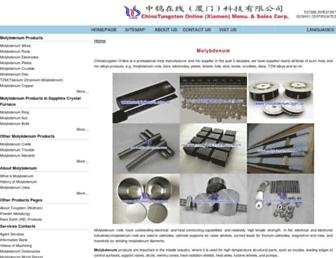Thumbshot of Molybdenum.com.cn