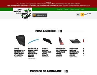 agromecanic.ro screenshot