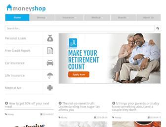 moneyshop.co.za screenshot