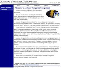 andrewscompanies.com screenshot