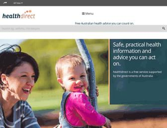 Thumbshot of Healthdirect.org.au