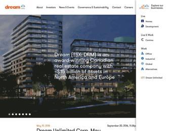 dream.ca screenshot