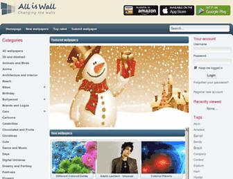 alliswall.com screenshot