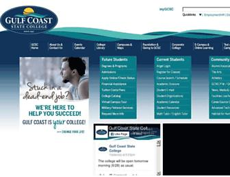 Thumbshot of Gulfcoast.edu