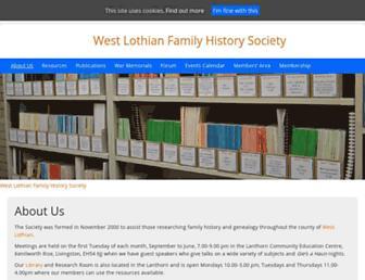 wlfhs.org.uk screenshot