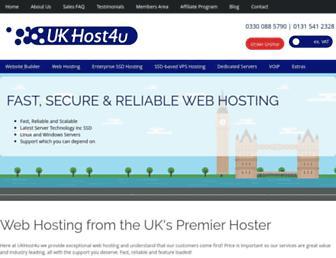 Thumbshot of Ukhost4u.co.uk