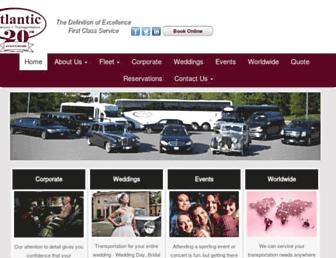 atlanticlimo-ga.com screenshot