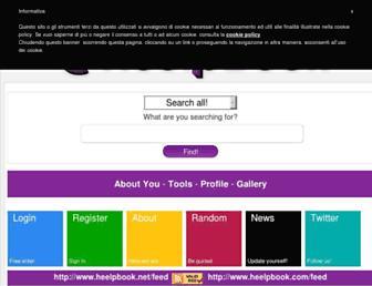 heelpbook.altervista.org screenshot