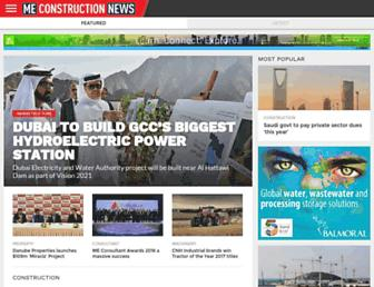 meconstructionnews.com screenshot