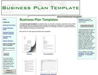 businessplantemplate.net screenshot