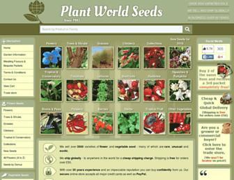 plant-world-seeds.com screenshot