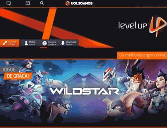 Thumbshot of Levelupgames.com.br
