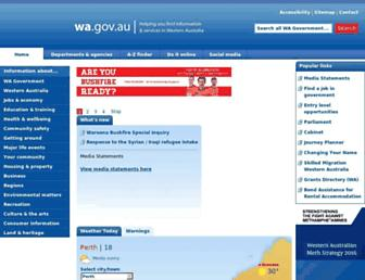 Thumbshot of Wa.gov.au