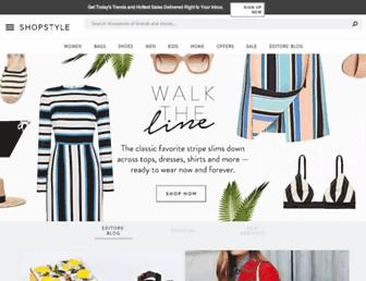 Thumbshot of Shopstyle.ca