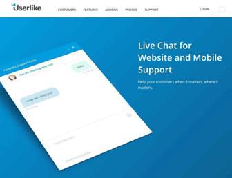userlike.com screenshot