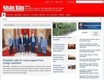 en.nhandan.org.vn screenshot