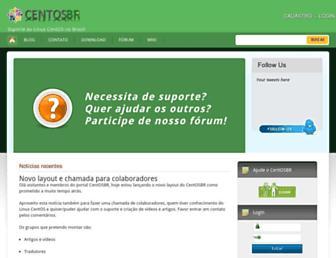 Thumbshot of Centosbr.org