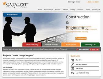 catalystusa.com screenshot