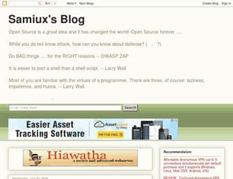 samiux.blogspot.com screenshot