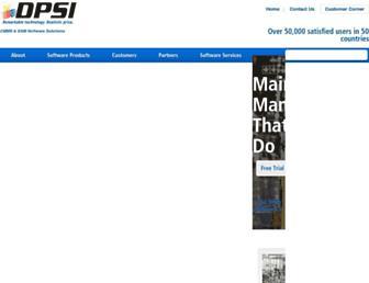 dpsi.com screenshot