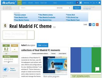 real-madrid-fc-theme.en.softonic.com screenshot
