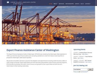 efacw.org screenshot