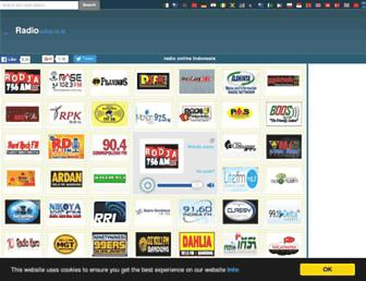Thumbshot of Radioonline.co.id