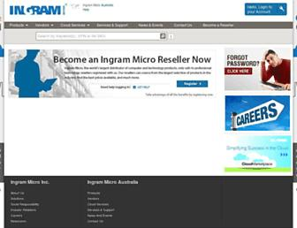 Thumbshot of Ingrammicro.com.au