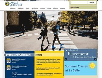 Thumbshot of Lasalle.edu
