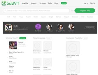 Thumbshot of Saavn.com