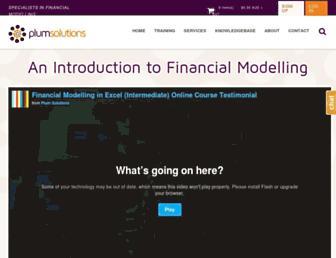 plumsolutions.com.au screenshot