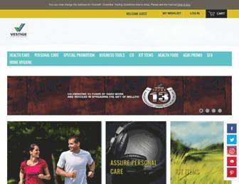 shop.myvestige.com screenshot