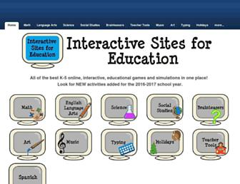 interactivesites.weebly.com screenshot