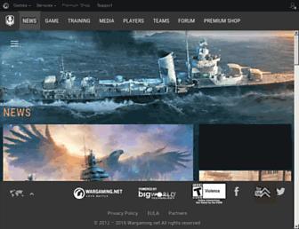 Thumbshot of Worldofbattleships.com