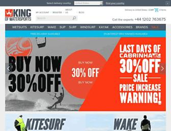 Thumbshot of Kingofwatersports.com