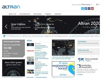 Thumbshot of Altran.com