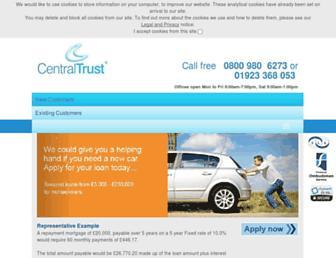 centraltrust.co.uk screenshot