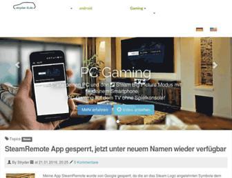 stryder-it.de screenshot