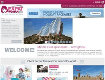 expatwoman.com screenshot