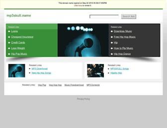 mp3skull.name screenshot