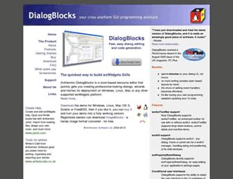 dialogblocks.com screenshot