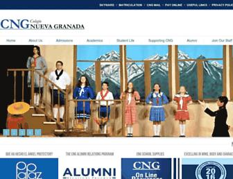 cng.edu screenshot